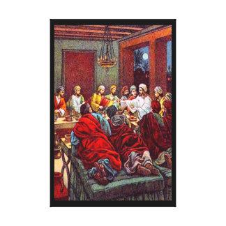 26:17 de Matthew - 25 la lona pasada del Passover Lona Envuelta Para Galerias