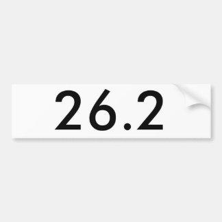 26.2 Bumper Sticker Car Bumper Sticker