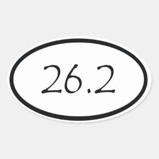 26,2 CALCOMANÍAS ÓVALES PERSONALIZADAS