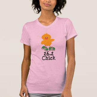 26.2 Chick Layered Look Tee