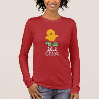 26.2 Chick Long Sleeve Tee Shirt