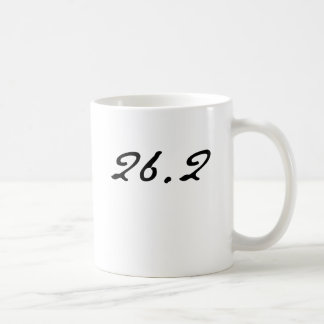 26.2 CLASSIC WHITE COFFEE MUG