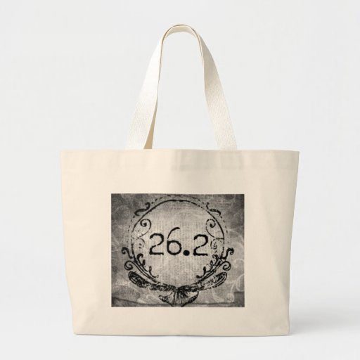 26.2 Crest by Vetro Designs Tote Bags