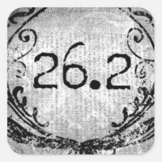 26,2 Escudo por los diseños de Vetro Pegatina Cuadrada