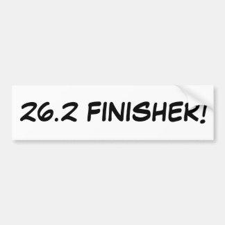 26.2 FINISHER! BUMPER STICKER