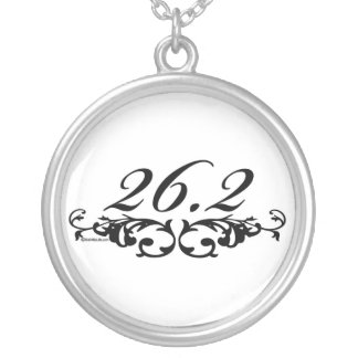 26.2 Floral Silver Plated Necklace