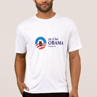 26.2 for Obama Chicago Marathon '08 T Shirt