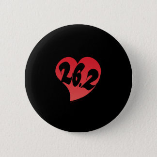 26.2 Heart Pinback Button