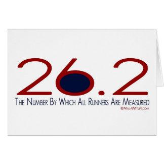 26,2 La enhorabuena del número Tarjetón