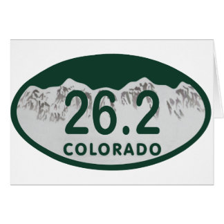 26 2 License oval Greeting Card