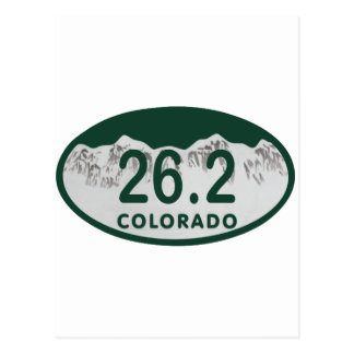 26 2 License oval Postcard