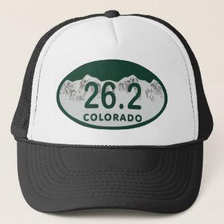 26.2 License oval Trucker Hat