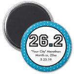 26.2 Marathon 2 Inch Round Magnet