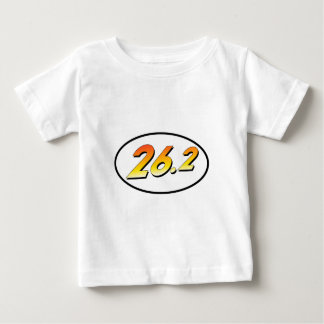 """26.2 Marathon """"Adventurer"""" Oval Baby T-Shirt"""