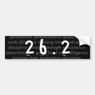 26.2 marathon bumper sticker car bumper sticker