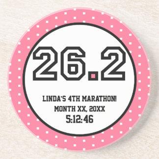 26.2 Marathon Beverage Coaster