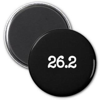 26.2 Marathon Definition 2 Inch Round Magnet