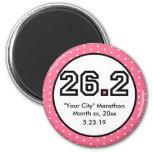26.2 Marathon Fridge Magnet