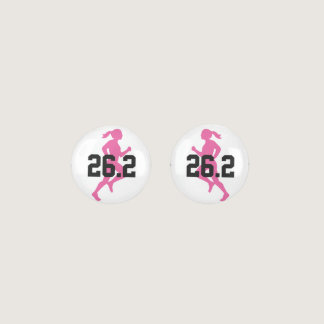 26.2 Marathon Girl Earrings