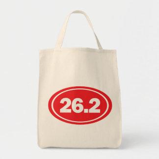 26.2 marathon grocery tote