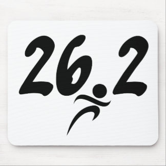 26.2 marathon mouse pad