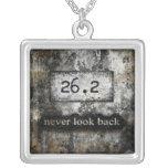 26.2 Marathon necklace by Vetro Jewelry
