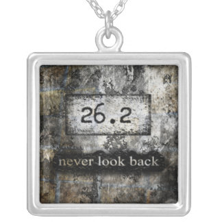 26.2 Marathon necklace by Vetro Jewelry