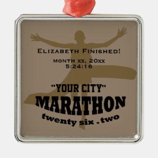26.2 Marathon Ornament