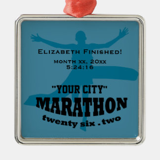 26.2 Marathon Ornament