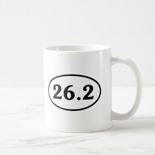 26.2 Marathon Oval (#Sou1) Coffee Mug