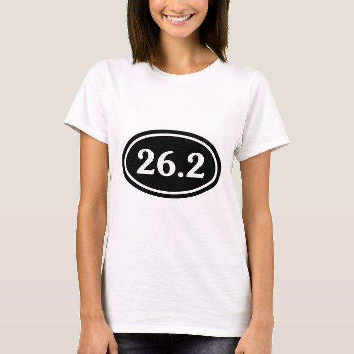 26.2 Marathon Oval (#SOU2) T-Shirt