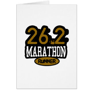 26.2 Marathon Runner Cards