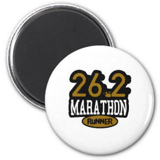 26.2 Marathon Runner Magnet