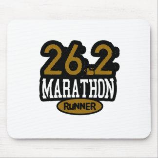 26.2 Marathon Runner Mouse Pad