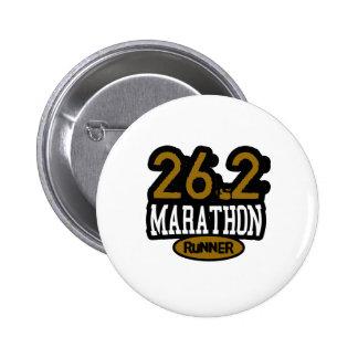 26.2 Marathon Runner Pins