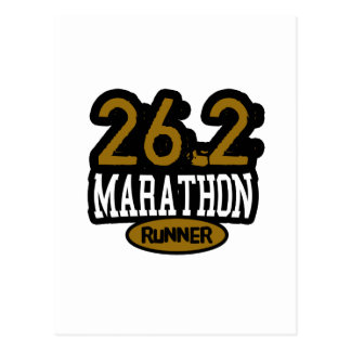 26.2 Marathon Runner Post Cards