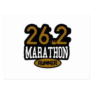 26 2 Marathon Runner Post Cards
