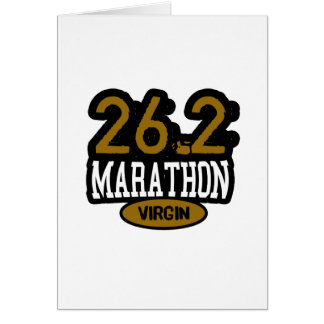 26.2 Marathon Virgin Cards