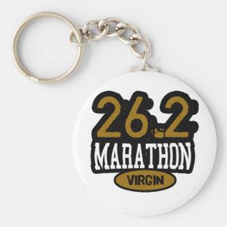 26.2 Marathon Virgin Keychains