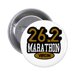 26.2 Marathon Virgin Pinback Button