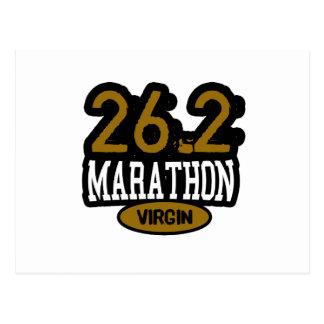 26.2 Marathon Virgin Post Card
