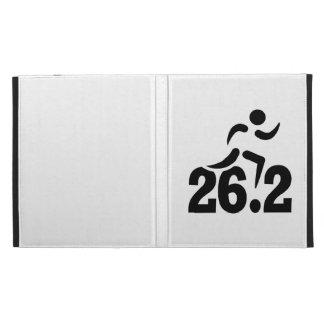 26.2 miles marathon iPad folio covers