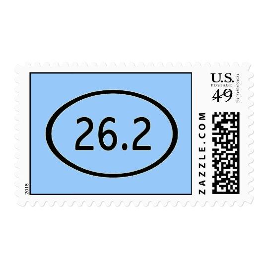 26.2 Miles Postage Stamp