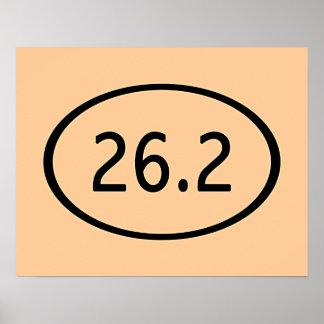 26,2 millas de poster