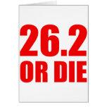 26.2 OR DIE CARDS