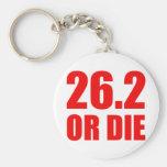 26.2 OR DIE KEYCHAINS