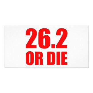 26.2 OR DIE PHOTO CARD