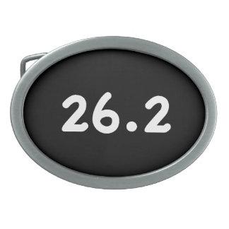 26.2 OVAL BELT BUCKLE