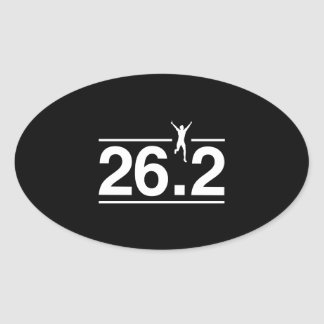 26 2 OVAL STICKER