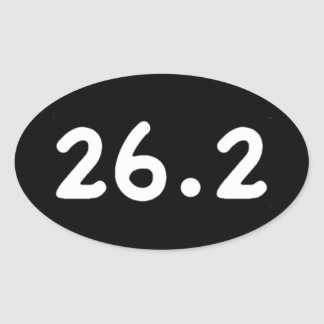 26.2 OVAL STICKER